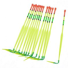 14 x #yellow green plastic fish tackle fishing #bobbers #floats,  View more on the LINK: 	http://www.zeppy.io/product/gb/2/361351020454/