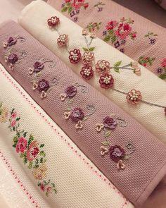 Embroidery Works, Silk Ribbon Embroidery, Embroidery Stitches, Embroidery Patterns, Hand Embroidery, Cross Stitch Patterns, Ideas Hogar, Embroidery Fashion, Bargello