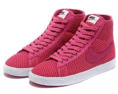 Marseille Nike Blazer Blanc - Rose foncé couleur 5ghCHl Solde