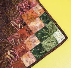 Timeless Treasures Tonga Treat Fabric & Double Diamonds Pattern Quilt Kit - None