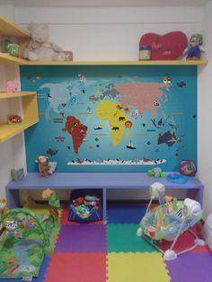 aplicação mapa mundi modelo infantil