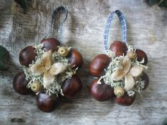 Christmas Yule Tree decoration  natural craft by wildwizardcrafts, £6.99