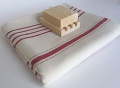 Turkish Bath Towel Handwoven Peshtemal Natural by TheAnatolian, $28.00