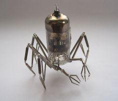 vacuum tube spider