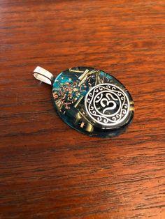 Concha nacar oval corona bali hippie Design anillo Ø 16,25 17 18 mm 925 Sterling plata
