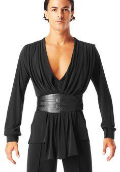 Taka Mens Shirt MS297 | Dancesport Fashion @ DanceShopper.com