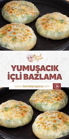 Flour Recipes, Pasta Recipes, Cooking Recipes, Pizza Pastry, Tasty, Yummy Food, Breakfast Items, Turkish Recipes, Vegetarian Recipes