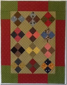 Repro 4-Patch Mini Quilt - Lexington Quilter