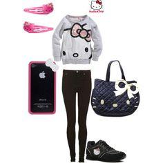 Hello Kitty fashion!!