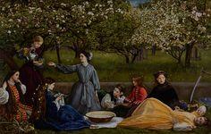 Liverpool National Museum of Fine British dream Pre-Raphaelite Exhibition | Bunkamura