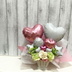 Mothers Day Balloons, Valentines Balloons, Birthday Balloons, Balloon Flowers, Balloon Bouquet, Chocolate Bouquet Diy, Balloon Basket, Minnie Mouse Balloons, 8 Mars