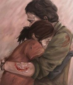 The feels are strong with this. The last of us fanart is amazing.