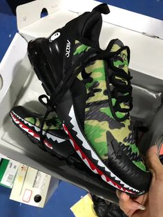 A Bathing APE x Nike Air Max 270