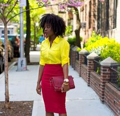 I love her style; colorful, happy, clean...