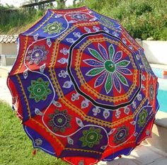 Save on Garden Umbrella from India