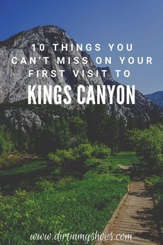 There are so many things to do in Kings Canyon National Park, but if this is your first road trip to the park it can be a little overwhelming. Don't worry, this list includes all the things you can't miss while on your vacation, plus a bunch of information to help you make your way around the park. Whether or not you like hiking and camping this list will make it easy to have a fun adventure. Fun Adventure, Greatest Adventure, Sequoia National Park, National Parks, Best Hikes, Amazing Adventures, Don't Worry, Monuments, Trip Planning