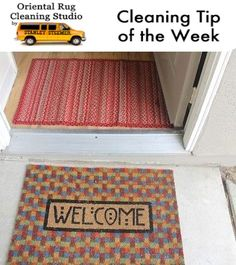 Most Dirt On Your Floors Come In On Your Feet. Have Two Mats At Your