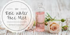 DIY Simple Rose Water Face Mist - Little Petunia In An Onion Patch