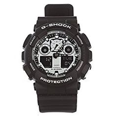 G-Shock GA-100BW-1A White and Black Series Luxury Watch – Black / One Size