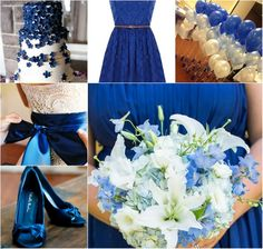 hochzeitsdeko royalblau | Top 4 royal Blue Wedding Ideals! | Kartenpalast Blog---- Palast für ...