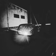 42/365 the Mirror.       #bobiko365 #365project #365 #365photochallenge #366project #365days #autumn #project365 #365challenge  #oneplus7t  #car #raining #dark #blackandwhite #bw #dailydriver #light 365 Photo Challenge, 365days, Project 365, Autumn, Mirror, Dark, Instagram, Fall Season, Mirrors
