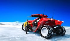 iPeg  on deviantart.      Keywords: all terrain armored desert snow all wheel drive concept vehicle with gun turret art design automotive re...