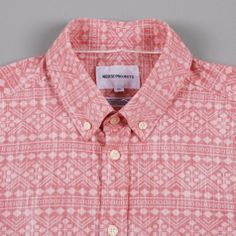 Norse Projects Anton Geometric Shirt