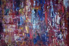 "Saatchi Art Artist Wibke Brode; Painting, ""#64"" #art Oil Painting Abstract, Oil Paintings, Original Paintings, Saatchi Art, Neon, Canvas, Artist, Embroidery, Oil On Canvas"