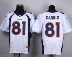 Buy Nike Denver Broncos Owen Daniels White Super Bowl 50 Mens Stitched NFL  Elite Jersey New Style from Reliable Nike Denver Broncos Owen Daniels White  Super ... 4c52fb8b9