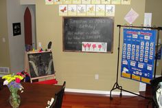 Faith In Small Things: Homeschooling the Catholic way: Our homeschool classroom (Or where the magic happens!)