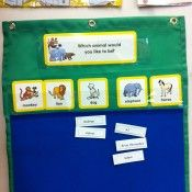 Question of the Day Chart by Lakeshore Learning! My favorite! We use this every day!