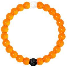 Orange Lokai Bracelet ($20) ❤ liked on Polyvore featuring jewelry, bracelets, orange, orange bangles, american jewelry, orange jewelry and silicone jewelry