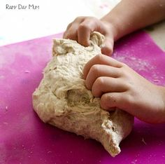 Easy Bread dough recipe for kids - part of the cooking with kids A to Z series