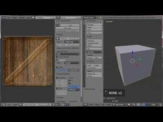 how to apply textures in blender 2.7x (beginners) - YouTube