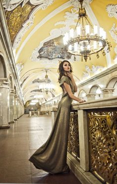 Moscow Metro by Alena Nikiforova--fabulous photos! <3
