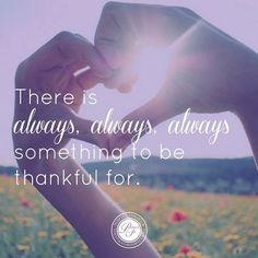 Great reminder! #Thankful