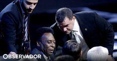 """Antiga estrela do futebol mundial acredita que a seleção brasileira tem """"uma boa equipa"""" mas diz que o futebol é sempre uma caixinha de surpresas"""". Acredita ainda que Neymar vai estar na competição. https://observador.pt/2018/04/16/pele-acredita-no-brasil-e-na-recuperacao-de-neymar-para-o-mundial2018/"""