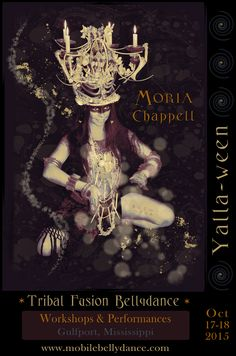 Moria Chappell's poster for Yalla-ween 2015