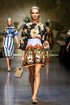 Dolce & Gabbana Spring Summer Ready To Wear 2013 Milan