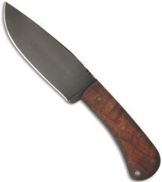 """Winkler Knives WKII Hunting Knife Fixed Blade WASP Micarta (4.75"""" Caswell) - Blade HQ"""