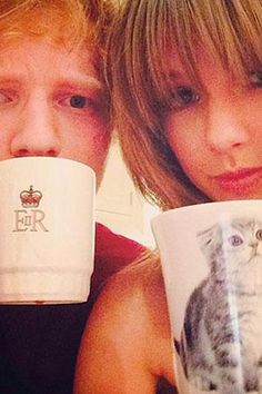 Taylor Swift and Ed Sheeran have some amazing texts to each other.
