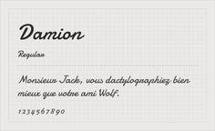 Damion - Free google font