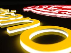 Illuminated letters made of acrylic | Trotec Laser Systems