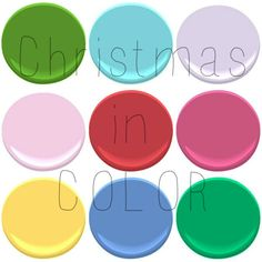 CHRISTMAS is so rich with COLOR...AND NOT JUST RED AND GREEN...BUT SO MANY COLORS AND COMBINATIONS ....    C-O-L-O-R!!! WHICH ARE YOUR FAVORITE COMBINATIONS FOR CHRI...