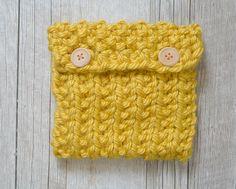 Easy Knit Pouch Pattern