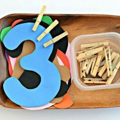 Number clip activity
