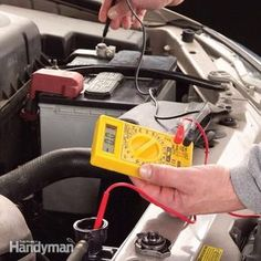 repair shop Coolant Testing with a Multimeter - Article: The Family Handyman - need to do this for the overheating talon Truck Repair, Engine Repair, Vehicle Repair, Car Engine, Engine Swap, Chevrolet Trailblazer, Mécanicien Automobile, Automobile Repair Shop, Assurance Auto