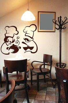 Funny Kitchen Restaurant Removable Wall Art Decor Sticker Decals 23 x 18 Vinyl Wall Art Decal I Kiss Better Than I Cook
