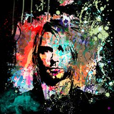 """Kurt Cobain"" by Gary Grayson"