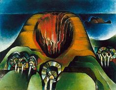 South seas icon: Horn of the Earth, (1972-1973) by Shay Docking :: The Collection :: Art Gallery NSW